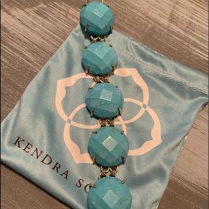 NWOT Kendra Scott turquoise Cassie
